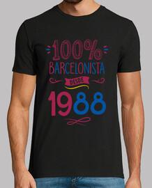 100% Barcelonista Desde 1988 | 30 años