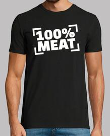 100% carne