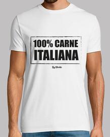 100% carne bovina Itali ana