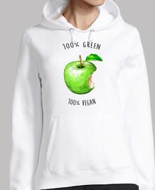 100 green 100 vegan