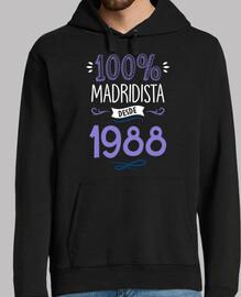 100% Madridista Desde 1988