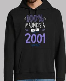 100% Madridista Desde 2001