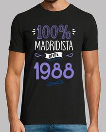 100% real madrid dal 1988, 31 anni