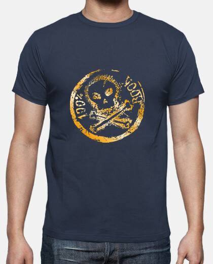 Camisetas 100% ROCK (metalizado)