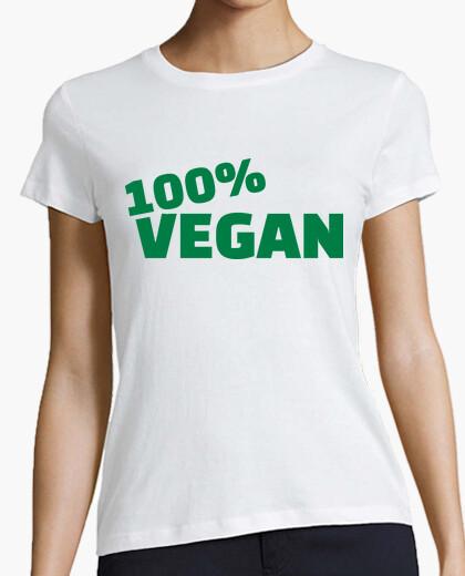 Camiseta 100 vegana