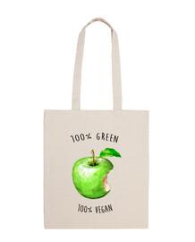 100 verde 100 vegan