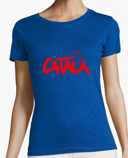 Camiseta 100x100 Català Mujer