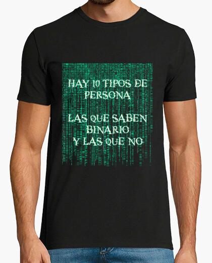 Camiseta 10 tipos de persona chico