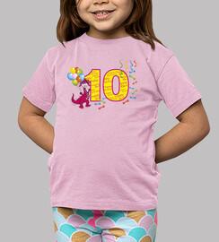 10mo cumpleaños dragón