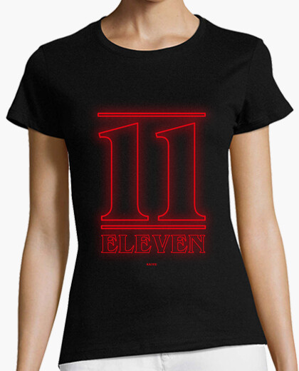 11 eleven girl's t-shirt