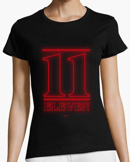 11 t-shirt da donna undici t-shirt da donna