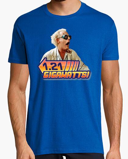 Camiseta 1,21 Gigovatios! (Regreso al Futuro)
