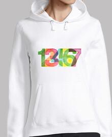 123456 // SWEAT Femme / blanc