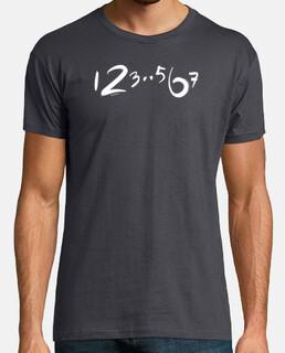 123 567, conteo de baile minimalista