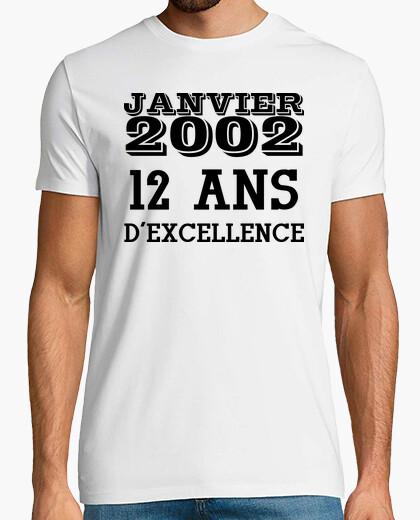 Camiseta 12 años para ser excelente en...