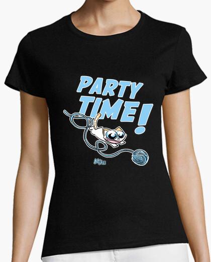 Tee-shirt 12 femme meow
