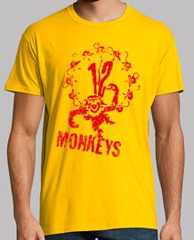 12 Monos Logo (amarilla)