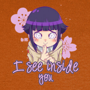Camisetas 136 - I can see inside you