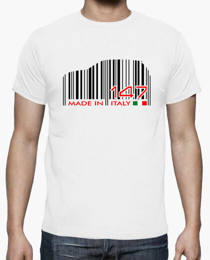 Camiseta 147 Made in Italy