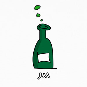 18. Botella / Bottle (Inktober 2018) T-shirts