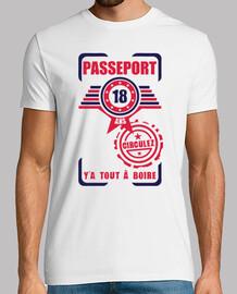 18 del passaporto compleanno
