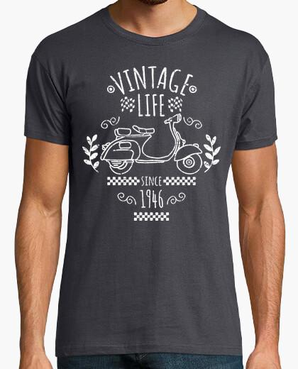 Tee-shirt 1946 vie scooter millésime
