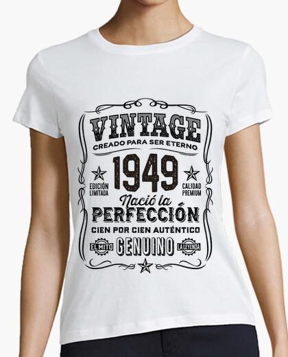 Tee-shirt 1949 année cadeau légende anniversaire