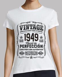 1949 année cadeau légende anniversaire