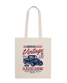 1953 USA vintage vieux sac de camion rétro