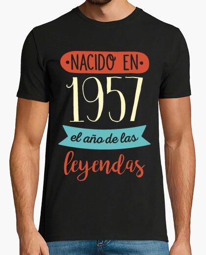 Camiseta 1957, el Año de las Leyendas, 62 años
