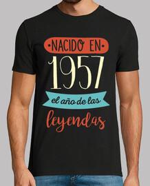 1957, el Año de las Leyendas, 62 años