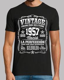 1957 vintage 61 anniversaire 61 ans