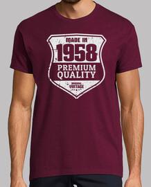 1958, qualité premium, 62 ans
