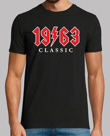 1963 cadeau rock classique 57e anniversaire