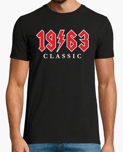 T-shirt 1963 regalo di rock classico 56 ° compleanno