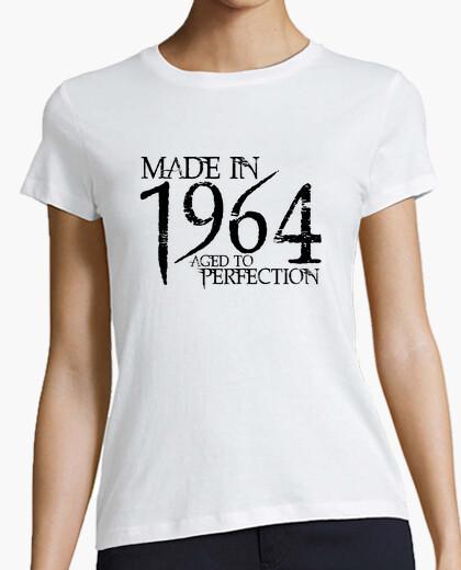 T-shirt 1964 nero northwood