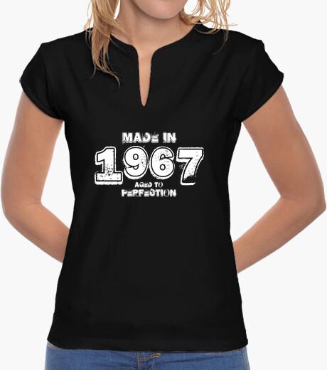 T-shirt 1967 hardrock bianco