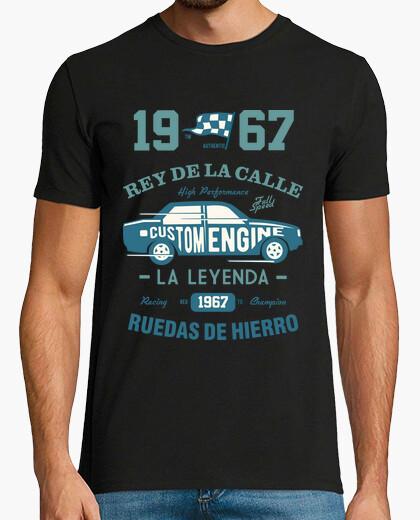Camiseta 1967 Rey De La Calle Coche Vintage