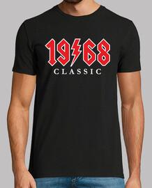 1968 cadeau rock classique 52e anniversaire
