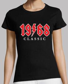 1968 Classic Rock Regalo 52 cumpleaños