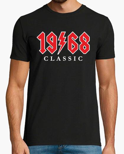 T-shirt 1968 regalo di rock classico 51 ° compleanno