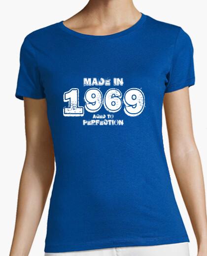 T-shirt 1969 hardrock bianco