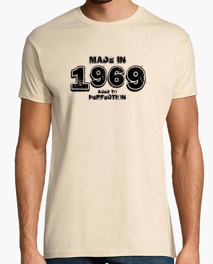 Tee-shirt 1969 hardrock noir