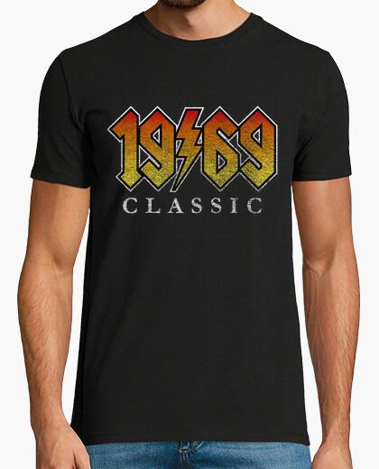 T-shirt 1969 metal 50 ° compleanno 50 anni C le