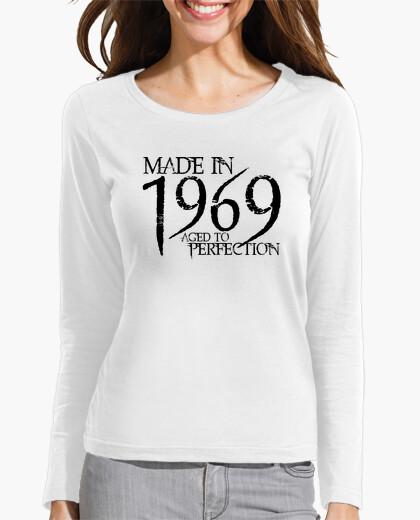 T-shirt 1969 nero northwood