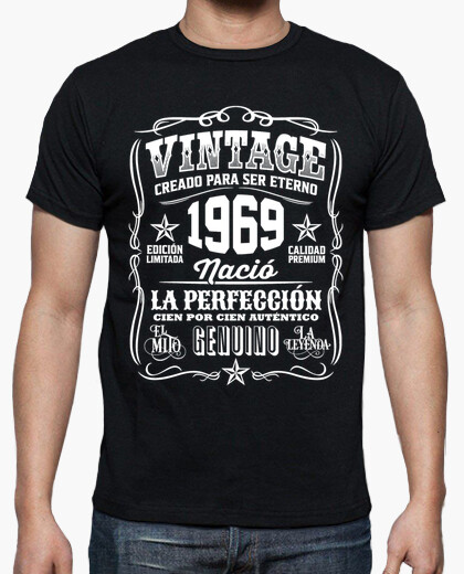 1969 vintage 50th birthday 50 years t-shirt