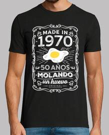 1970. 50 años molando un huevo