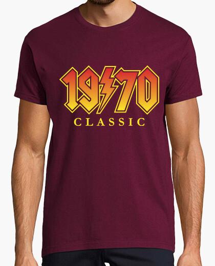 Camiseta 1970 Classic Vintage Rock 50 Cumpleaños