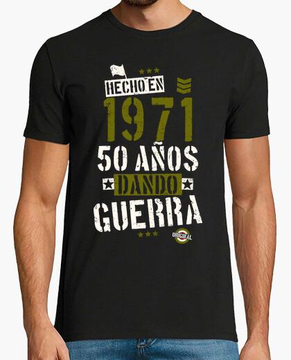 Camiseta 1971. 50 años dando guerra