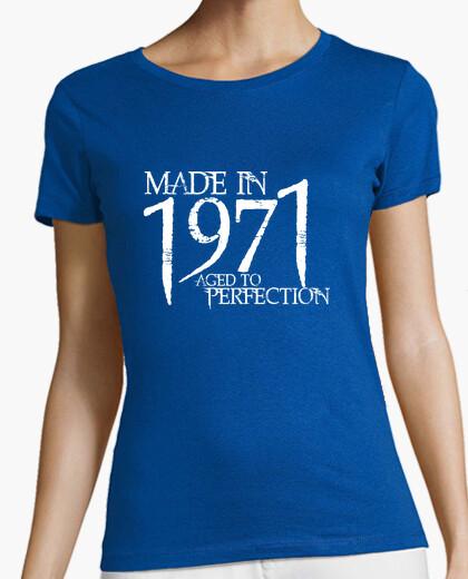 T-shirt 1971 northwood bianco